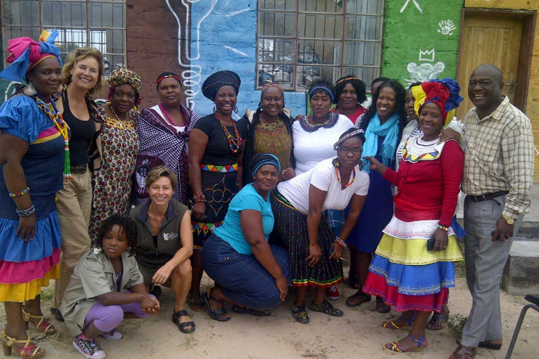 Linda-with-Princess-Kabelo-&-Mpho-Tutu-at-Power-Lion-Primary